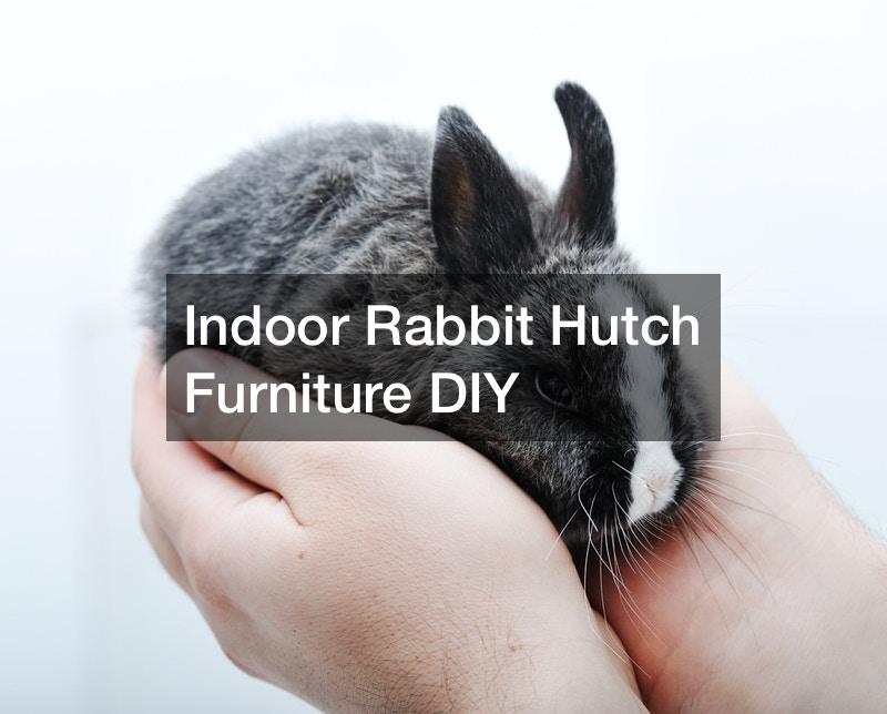Indoor Rabbit Hutch Furniture DIY
